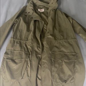 Mossimo Supply Olive Green Coat